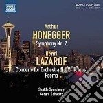 Sinfonia n.2 cd musicale di Arthur Honegger