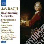 Concerti brandeburghesi (integrale), tri cd musicale di Johann Sebastian Bach
