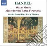 Musica sull'acqua, musica per i reali fu cd musicale di Handel georg friedri