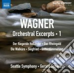Orchestral excerpts, vol.1 - estratti or cd musicale di Richard Wagner