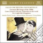 Salon orchestra favourites vol.4 cd musicale di Heymann werner richa