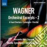 Orchestral excerpts, vol.2 - estratti or cd musicale di Richard Wagner
