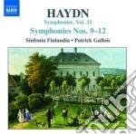 Sinfonia n.9, n.10, n.11, n.12 (hob.i:9- cd musicale di Haydn franz joseph