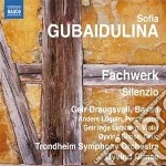 Fachwerk, silenzio cd musicale di Sofia Gubaidulina