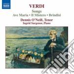 Arie da camera cd musicale di Giuseppe Verdi