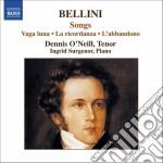 Arie da camera cd musicale di Vincenzo Bellini