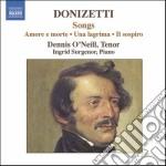 Donizetti Gaetano - Liriche Da Camera cd musicale di Gaetano Donizetti