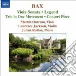 Sonata per viola, concert piece, legend, cd musicale di Arnold Bax