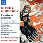 Rimsky-korsakov Nikolay - Capriccio Spagnolo Op.34, Overtures, Dubinushka Op.62 cd musicale di Rimsky korsakov niko