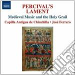 Percival's Lament - La Musica Medievale E Il Sacro Graal cd musicale di Miscellanee