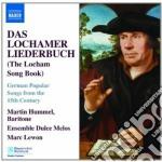 Lochamer liederbuch cd musicale