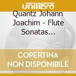 SONATE PER FLAUTO NN.272-277              cd musicale di QUANTZ JOHANN JOACHI