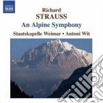 Sinfonia delle alpi cd musicale di Richard Strauss