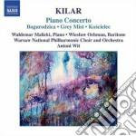 Concerto per pianoforte, bogurodzica (ma cd musicale di Wojciech Kilar