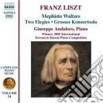 Opere per pianoforte (integrale), vol.24 cd musicale di Franz Liszt
