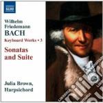Opere per tastiera (integrale), vol.3 cd musicale di Bach wilhelm friede