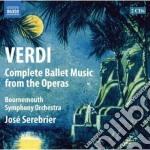 Integrale della musica di danza tratta d cd musicale di Giuseppe Verdi