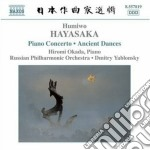 Hayasaka Humiwo - Concerto Per Pianoforte, Ancient Dances On The Left And On The Right cd musicale di Humiwo Hayasaka