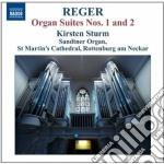 Opere per organo (integrale), vol.12 cd musicale di Max Reger