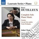 Dutilleux Henri - Sonata, 3 Preludi, Au Gre Des Ondes, Bergerie, Blackbird, Resonances, ... cd musicale di Henri Dutilleux