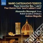 Concerto per pianoforte n.1 op.46, n.2 o cd musicale di Tedesco Castelnuovo