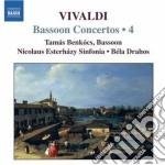 Concerti per fagotto (integrale) vol.4 cd musicale di Antonio Vivaldi