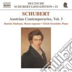 Lied edition 23 - austrian contemporarie cd musicale di Franz Schubert