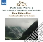 Norwegian piano music cd musicale