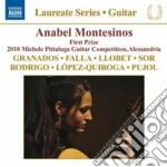 Guitar recital - anabel montesinos cd musicale di Miscellanee