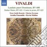 Laudate pueri dominum rv 600, stabat mat cd musicale di Antonio Vivaldi