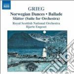 Musica orchestrale, vol.2: orchestrazio cd musicale di Edvard Grieg