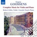 Musica per violino e pianoforte (integra cd musicale di Eugene Goossens