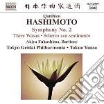 Hashimoto Qunihico - Sinfonia N.2, Three Wasan, Partita cd musicale di Qunihico Hashimoto