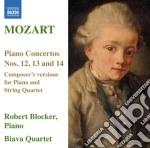 CONCERTO PER PIANOFORTE N.12, N.13, N.14  cd musicale di Wolfgang Amadeus Mozart