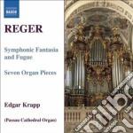 Fantasia sinfonica e fuga op.57, 7 pezzi cd musicale di Max Reger