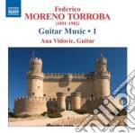 Musica per chitarra (integrale), vol.1 cd musicale di Torroba federico mor