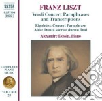 Opere per pianoforte (integrale) vol.25 cd musicale di Franz Liszt