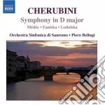 Sinfonia in re maggiore, ouvertures da m cd musicale di Luigi Cherubini