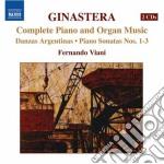 Musica per pianoforte e per organo (inte cd musicale di Alberto Ginastera