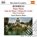 Opere per pianoforte (integrale), vol.2 cd musicale di JoaquÍn Rodrigo