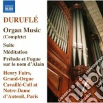 Musica per organo (integrale) cd musicale di Maurice Durufle'