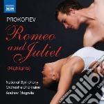 Romeo e giulietta op.64 (estratti) cd musicale di Sergei Prokofiev