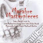 Macabre masterpieces cd musicale di Miscellanee