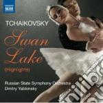 Il lago dei cigni (estratti) cd musicale di Ciaikovski pyotr il