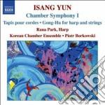 Isang yun,chamber symphony 1, tapis per cd musicale di Isang Yun