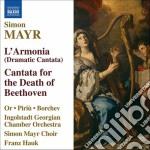 L'armonia, cantata per la morte di napol cd musicale di Simon Mayr