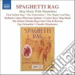 Spaghetti rag - rag music with mandolins cd musicale di Miscellanee