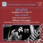 Sinfonia n.2, op.73 cd musicale di Johannes Brahms