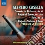 Concerto per orchestra op.61, pagine di cd musicale di Alfredo Casella