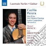 Guitar recital cd musicale di Cecilio Perera